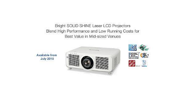 松下推出新款SOLID SHINE激光投影机