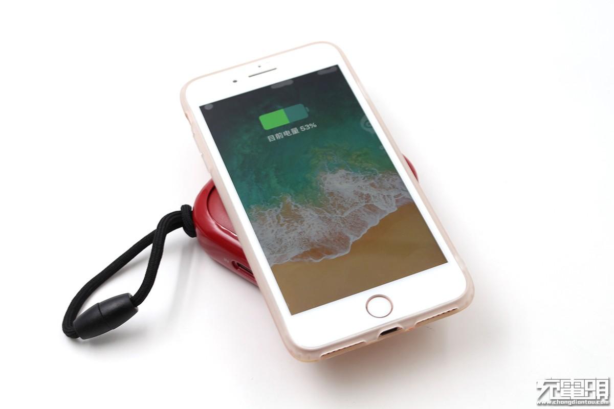 小巧挂绳设计:小麦一品推出新款10000mAh无线充移动电源
