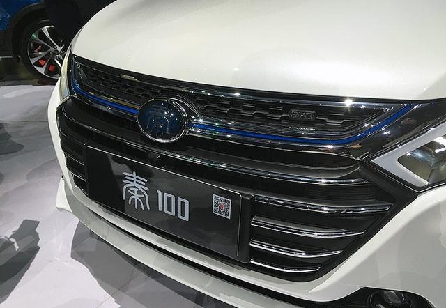 解析比亚迪秦100:将现身北京车展 纯电续航100KM