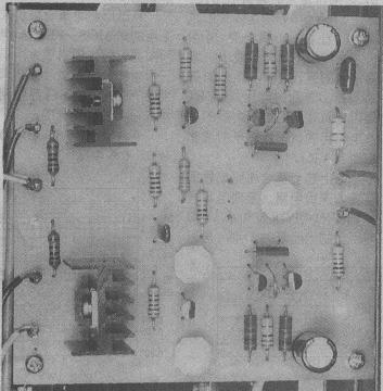 电路的偏置电压过大,应将2sk213/2sj76栅极间的固定