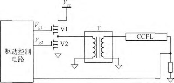 图16半桥结构驱动电路示意图
